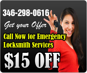$15 OFF Call Now for Emergency Locksmith Services & Get your Offer